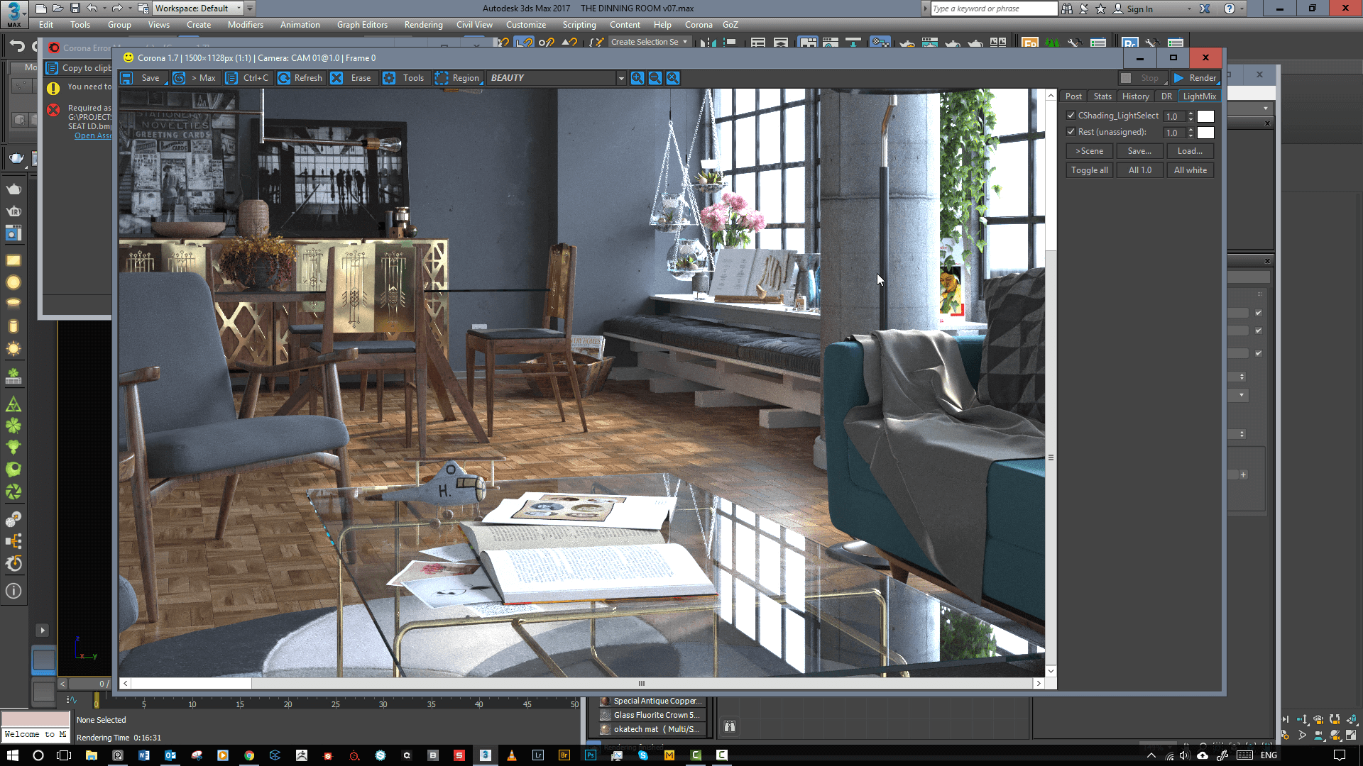 Architectural visualization: 3d production designplaygrounds